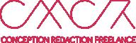 Logo CMCR, Conception Rédaction Freelance