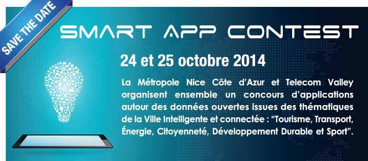 Bannière Smart App Contest Telecom Walley