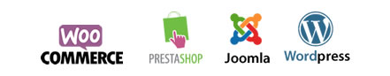 Illutstration Prestashop Joomla WordPress