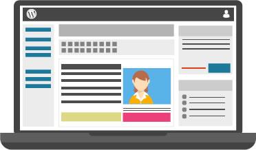 Illustration de la gestion des contenus d'un site